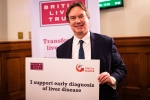 Jonathan Lord MP attends liver disease event